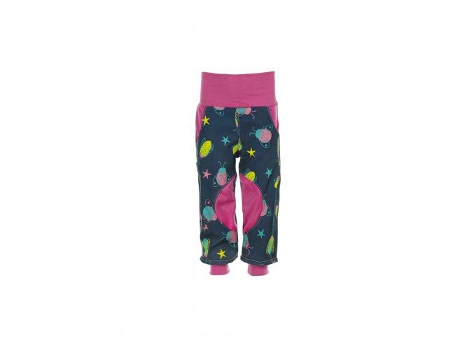 4985 detske softshellove kalhoty broucci