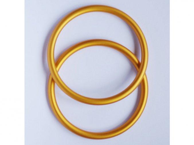ring sling krouzky na noseni deti zlute
