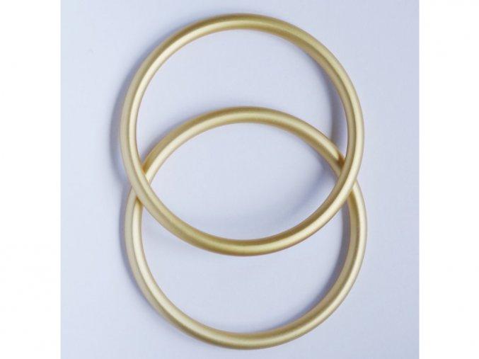 ring sling krouzky na noseni deti zlate