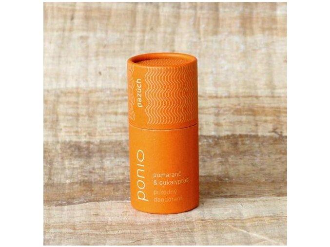 ponio prirodni deodorant pomeranc a eukalyptus ponio l