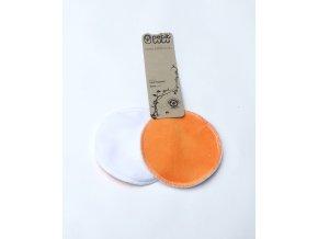Vložky do podprsenky Petit lulu, Oranžové (velur)